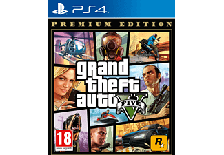 PS4 GTA V Premium Edition