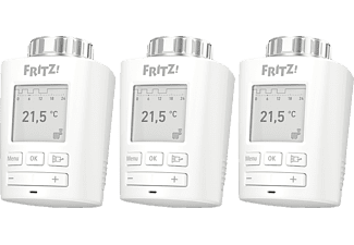 AVM FRITZ!DECT 301 3er Pack Thermostat, Weiß