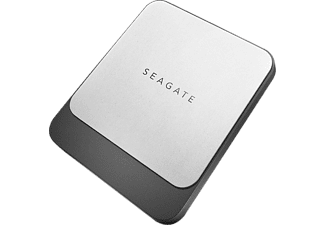 Seagate Fast 500 GB Externe SSD harde schijf USB-C Zwart-zilver