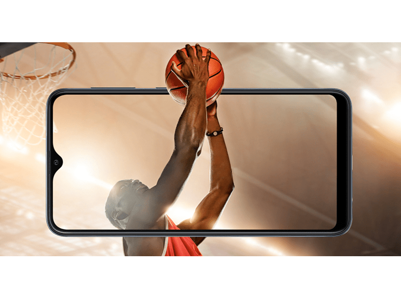 SAMSUNG Galaxy A10 32GB DualSIM fekete kártyafüggetlen okostelefon (SM-A105)