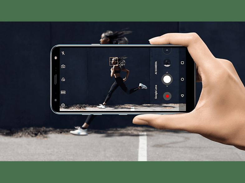 LG K40 DualSIM platinaszürke kártyafüggetlen okostelefon