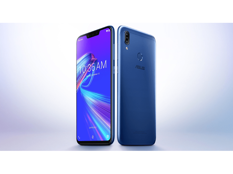 ASUS ZenFone MAX (M2) ZB633KL-4D071EU SingleSIM kék kártyafüggetlen okostelefon