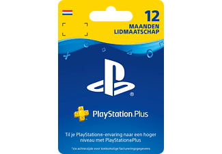 PlayStation Plus Card 1 Jaar