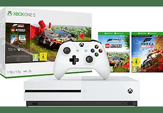 MICROSOFT Xbox One S + Forza Horizon 4 LEGO