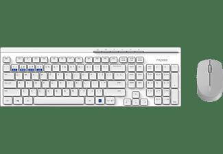 Rapoo Multi Mode 8100M Combinatieset Wit