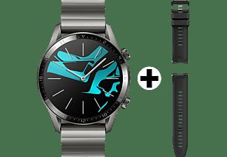 Huawei WATCH GT 2 smartwatch Grijs, Titanium AMOLED 3,53 cm (1.39 ) GPS