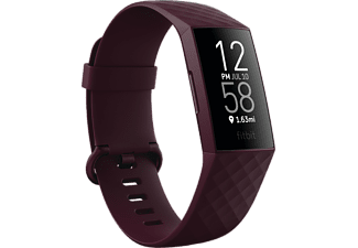 FitBit Charge4 Activiteitentracker Wijnrood