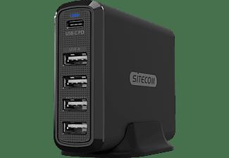 Sitecom 60W FastUSB MultiportDesktopChar