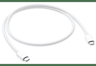 Kabel USB 2.0 Apple [1x Thunderbolt 3 stekker C 1x USB-C stekker] 0.8 m Wit