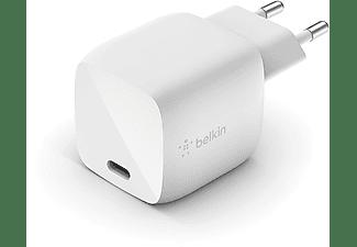 BELKIN USB-C Charger 30 Watt met GaN-technologie Wit