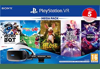 SONY Playstation VR Megapack III + 5 Games