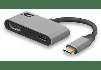 ACT USB-C naar HDMI female adapter