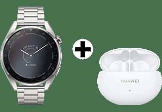 HUAWEI Watch 3 Pro Elite Grijs-Grijs + FreeBuds 4i Wit