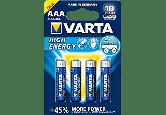 VARTA HIGH ENERGY AAA / LR03 BLS 4