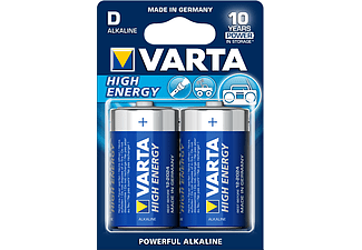 VARTA HIGH ENERGY D / LR20 BLS 2