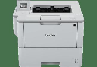 Brother Zwart-wit A4 laserprinter. 46ppm. 1200dpi. 256MB. 4.5 cm LCD touchscre (HL-L6300DW)