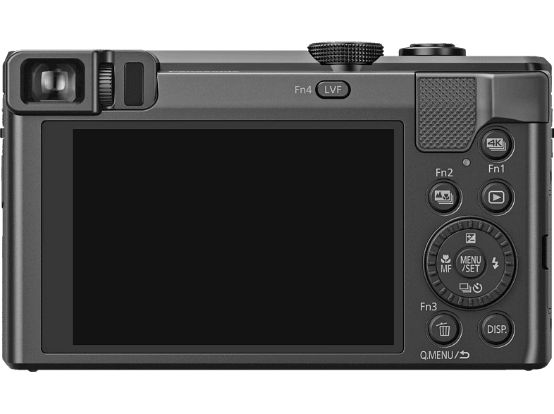 PANASONIC Lumix DMC-TZ81 LEICA Digitalkamera, 18.1 Megapixel, 30x opt. Zoom, Schwarz