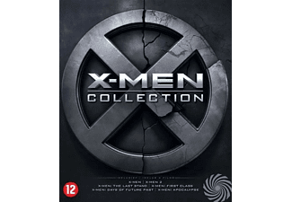X-Men 1-6 Famke Janssen, Hugh Jackman Blu-Ray (2016)