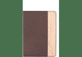 Gecko Luxe Beschermhoes Voor Kobo Aura Edition 2 (Bruin)