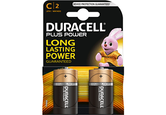 DURACELL Plus Power Alkaline C2-pack
