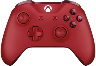 Microsoft Xbox One S Draadloze Controller Rood