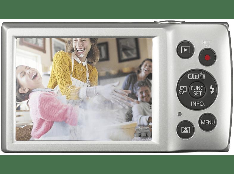 CANON Ixus 185 Digitalkamera, 20 Megapixel, 8x opt. Zoom, Silber