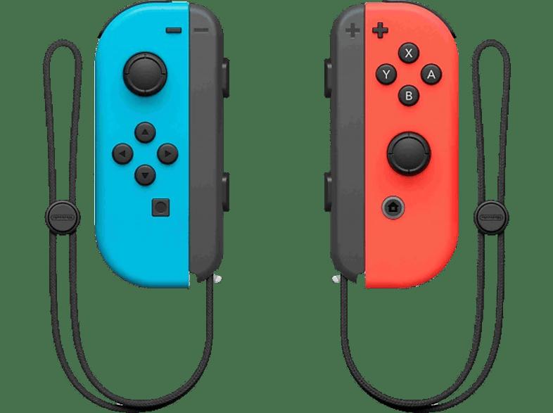 Joy-Con kontroller pár, neon kék/neon piros