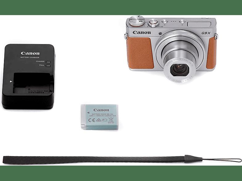 CANON PowerShot G9X Mark II ezüst digitális fényképezőgép