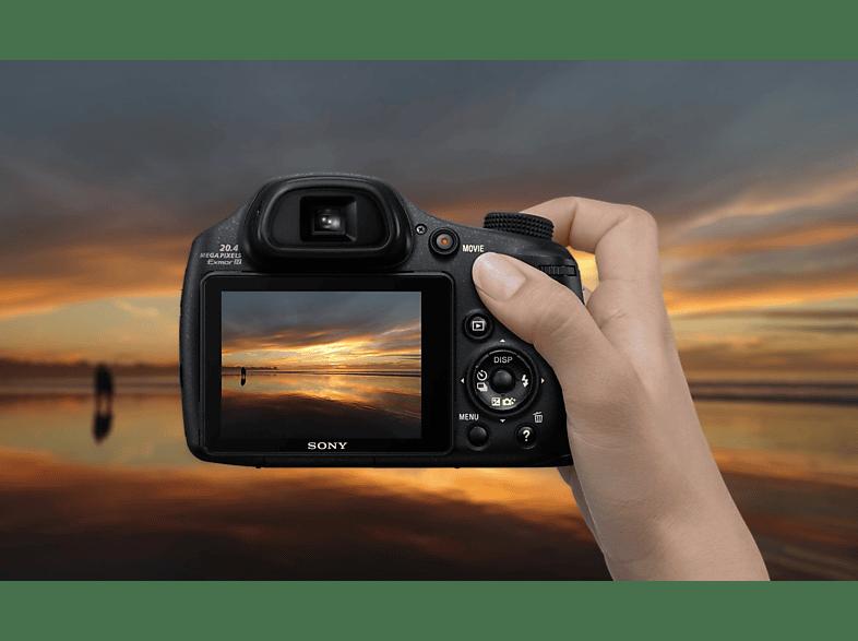 SONY CyberShot DSC-HX 350B digitális fényképezőgép fekete