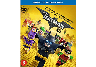 LEGO Batman movie (3D), (Blu-Ray) BILINGUAL -CAST: WILL ARNETT, RALPH FIENNES. BLURAY