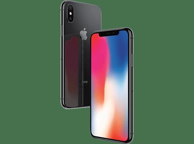 APPLE iPhone X, Smartphone, 256 GB, Space Grey