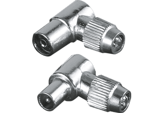 HAMA Coax-set metaal plug/jack