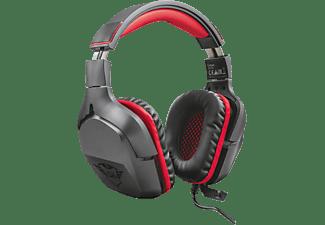 Gaming headset 3.5 mm jackplug Kabelgebonden Trust GXT 344 Creon Over Ear Zwart