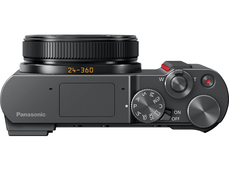 PANASONIC Lumix DC-TZ202 LEICA Digitalkamera, 20 Megapixel, 15x opt. Zoom, Silber