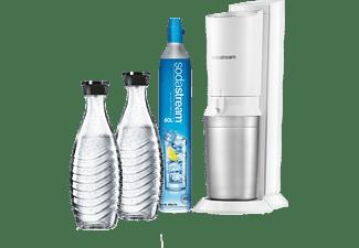 SodaStream bruiswatertoestel Crystal wit incl. 2 karaffen