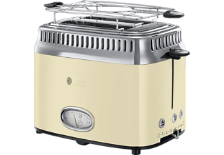 RUSSELL HOBBS TOASTER RETRO CREME