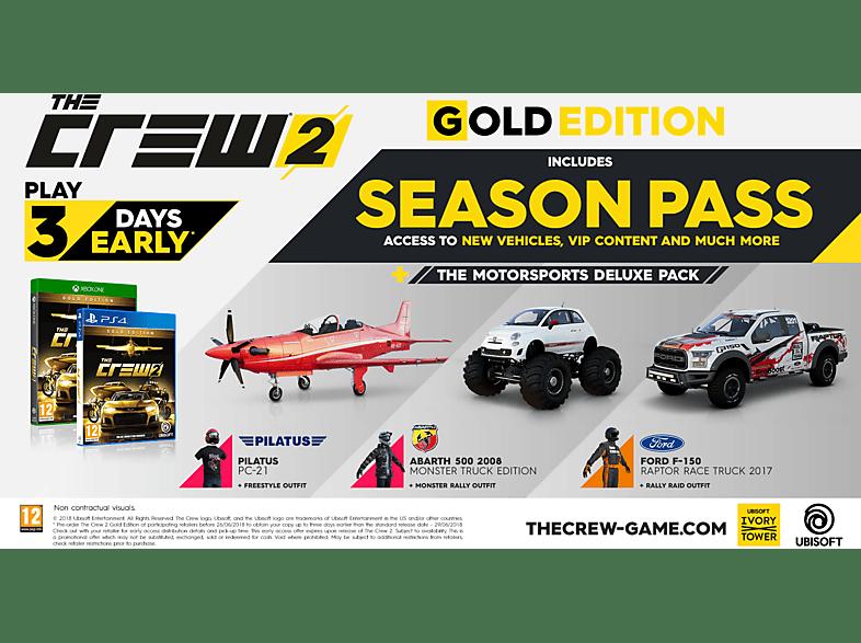 The Crew 2 Gold Edition (PlayStation 4) - MediaMarkt Magyarország