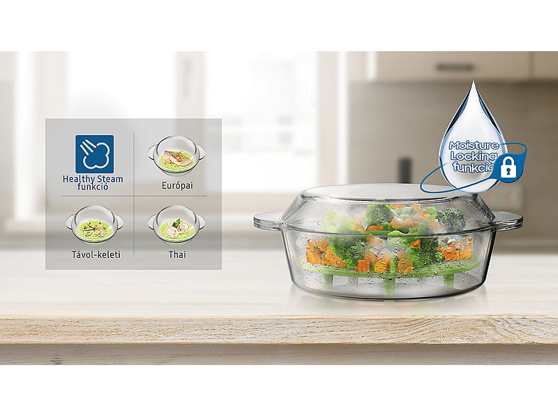 Samsung mikrohullámú sütő - Healthy Stem