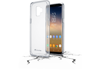 CELLULAR-LINE Samsung Galaxy S9 Plus Case Clear Duo Transparent