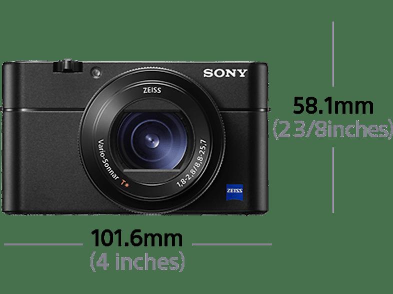 SONY Cyber-shot DSC-RX100 VA Zeiss Digitalkamera, 20.1 Megapixel, 2.9x opt. Zoom, Schwarz
