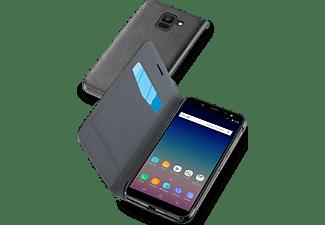 CELLULAR-LINE Samsung Galaxy J6 (2018) Case Book Zwart