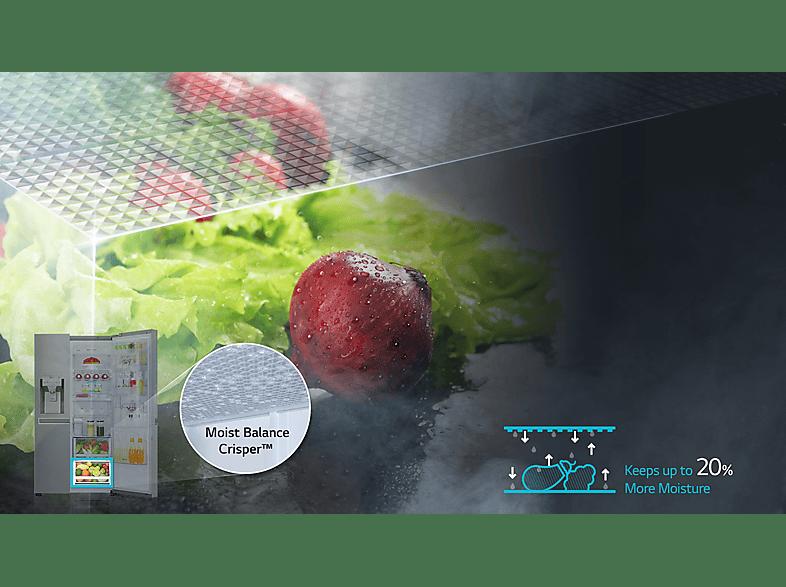LG hűtőszekrény GSJ960NSBZ