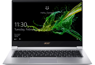 ACER Swift 3 (SF314-55-71NF), Notebook mit 14 Zoll Display, Core™ i7 Prozessor, 8 GB RAM, 512 GB SSD, GeForce® MX150, Silber