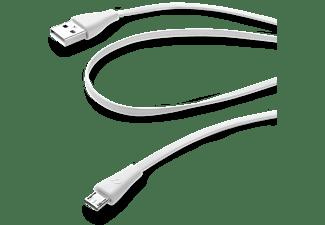 CELLULAR-LINE Datakabel Micro-USB Wit