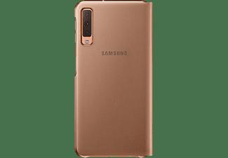 SAMSUNG Galaxy A7 Wallet Flip Cover Goud