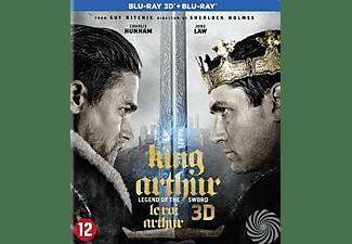 King Arthur Legend of the sword (3D), (Blu-Ray). BLURAY