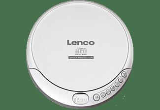 Lenco CD-201 Discman CD, CD-R, CD-RW, MP3 Accu laadfunctie Zilver