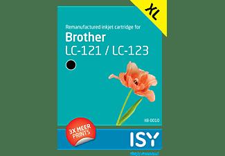 ISY Brother LC 123 Zwart