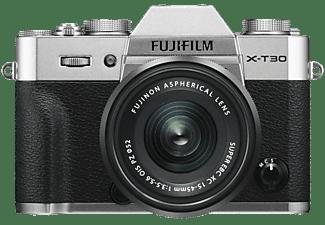 Fujifilm X-T30 systeemcamera Zilver + XC 15-45mm f-3.5-5.6 OIS PZ objectief Zwart