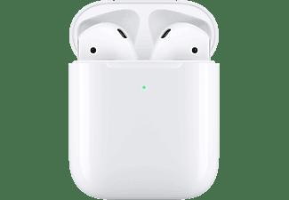 APPLE AirPods mit kabellosem Ladecase 2. Gen, In-ear, True-Wireless-Kopfhörer, Weiß